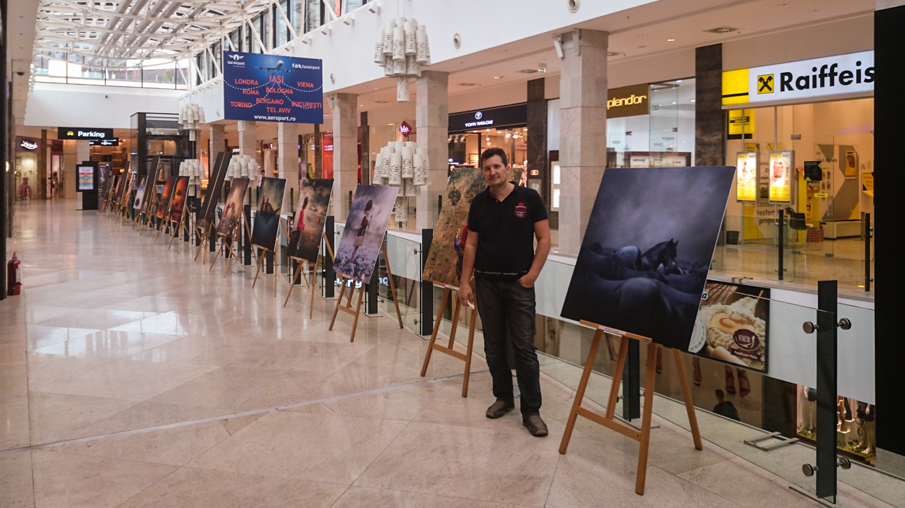 Personal Exhibition at Palas Mall, Iaşi